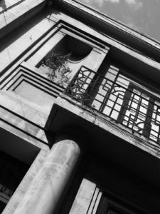 Detail of Cactus House, Sliema